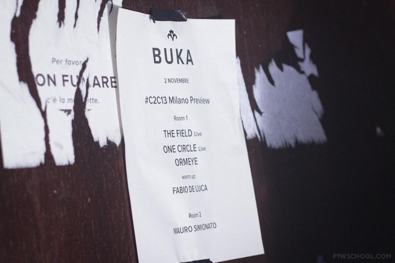 ONE CIRCLE @ BUKA X #C2C13 MILANO PREVEIW! (10)