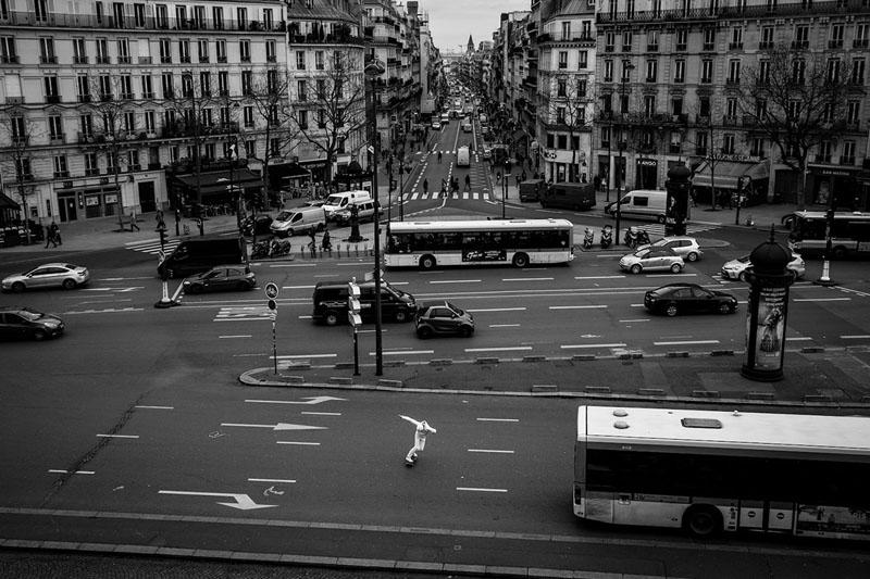 Skate vs architettura le foto di luke paige a parigi for Architettura a parigi