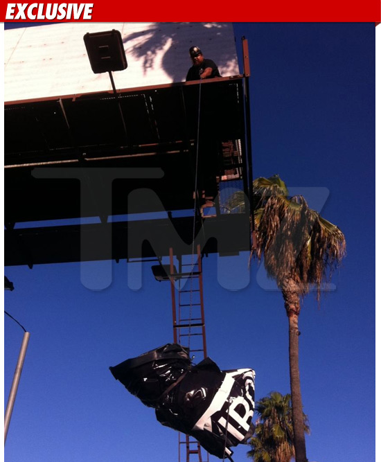 BANKSY REMOVED HOLLWOOD
