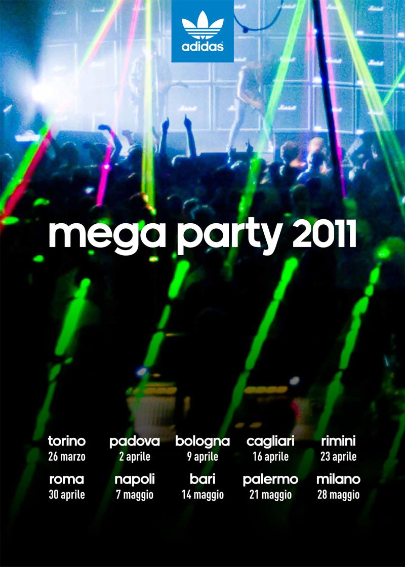 ADIDAS MEGA PARTY 2011