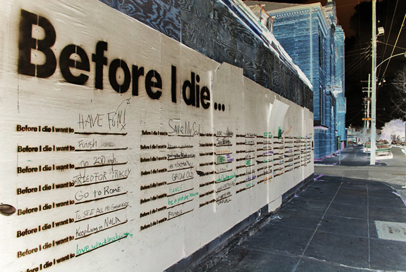 BEFORE I DIE - CANDY CHANG - NEW ORLEANS
