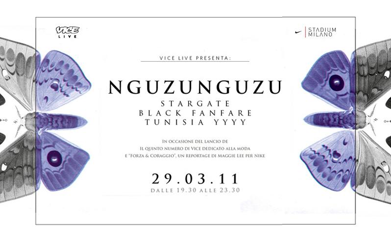 NGUZU NGUZU + STARGATE + BLACK FANFARE + TUNISIA YYY