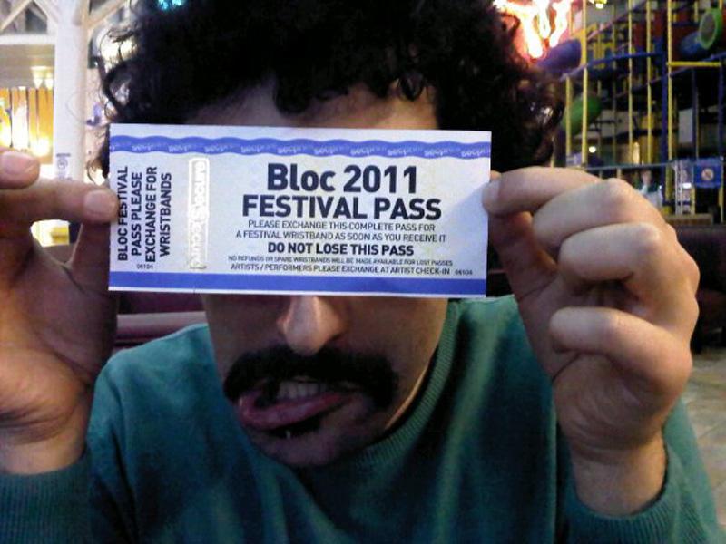 BLOC FESTIVAL 2011 - MINEHEAD - BRISTOL
