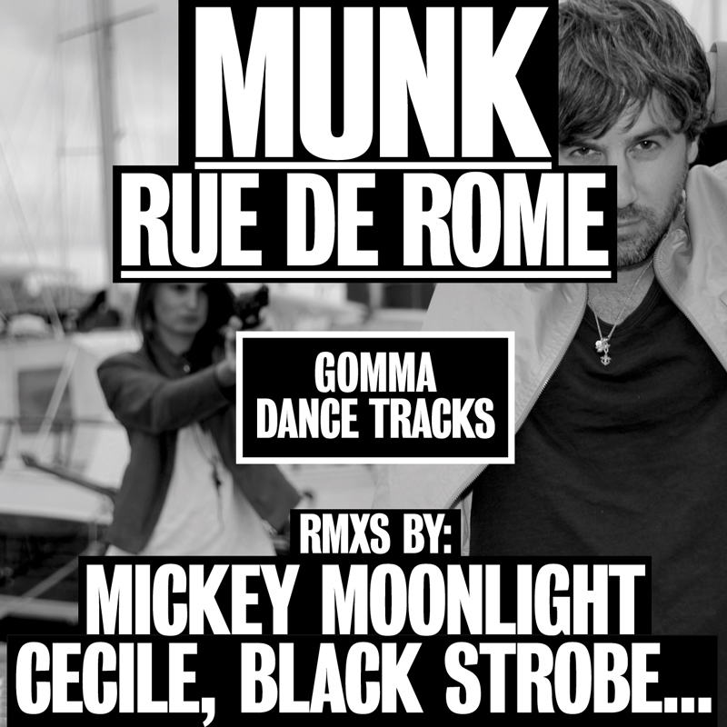 MUNK RUE DE ROME COVER