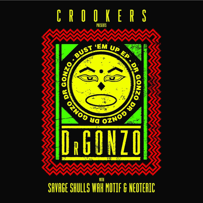 DR GONZO EP - COVER