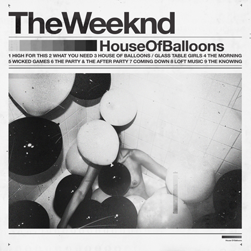 THE WEEKND HOUSE OF BALLOONS