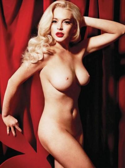 Lindsey Lohan in einem Porno