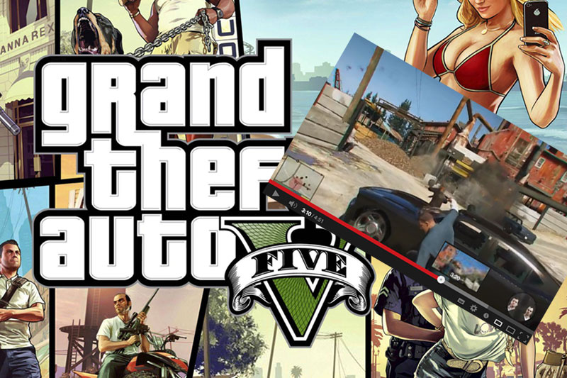 Grand Theft Auto On Vita : Grand theft auto v e la tua vita sociale finita